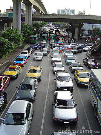 Bangkok jam ruchu