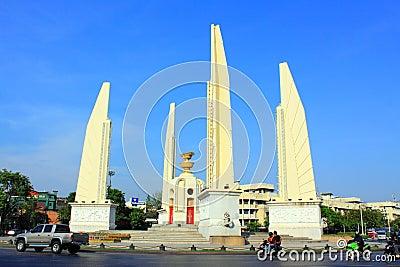 Bangkok Landmark – Democracy Monument Editorial Image