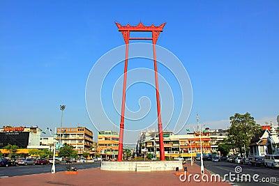 Bangkok Landmark - Giant Swing Editorial Stock Image