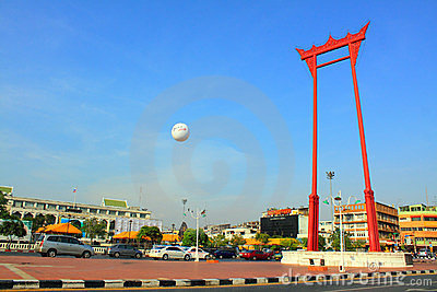 Bangkok Landmark - Giant Swing Editorial Stock Image