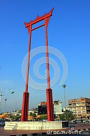 Bangkok Landmark - Giant Swing Editorial Image