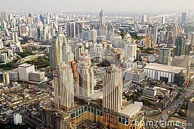 Bangkok Metropolis in Thailand