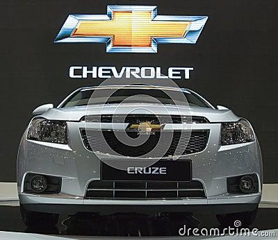Bangkok Motor Show Chevy Editorial Image