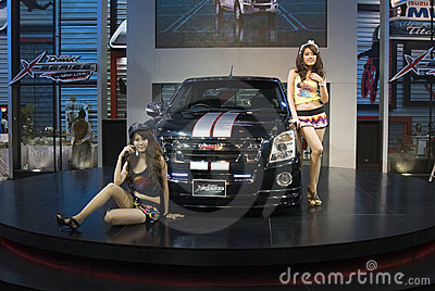 Bangkok Motor Show Isuzu Editorial Stock Photo