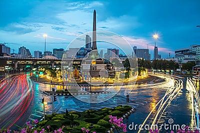 Bangkok after the rain Editorial Photo