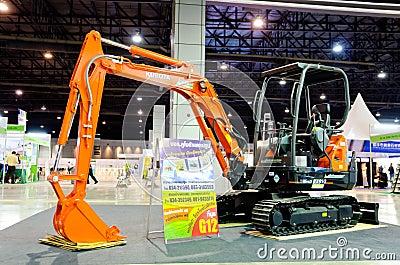 BANGKOK - September 21 : KUBOTA Super Series2 KX91-3 Multi excav Editorial Photography