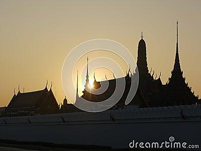 Bangkok slottkunglig person