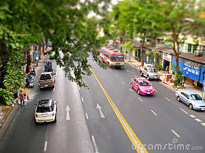 Bangkok street view  Editorial Stock Photo