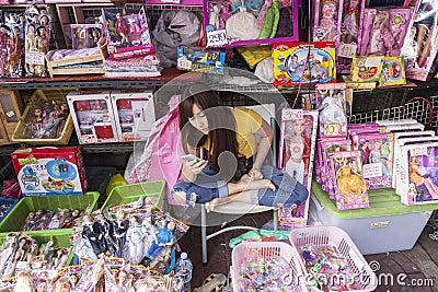 shopping stret
