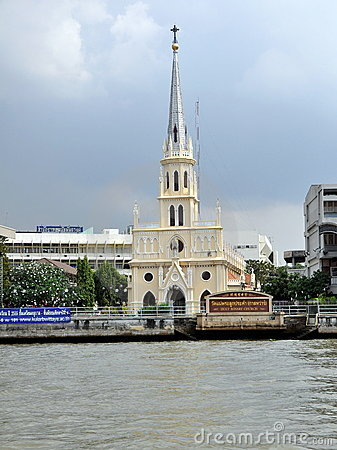 Bangkok, Thailad: Church of the Holy Rosary Editorial Stock Image