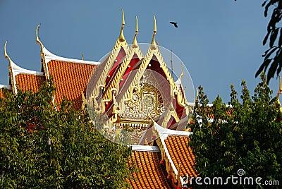 Bangkok, Thailand: Benchamabophit Temple