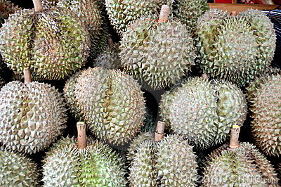 Bangkok, Thailand: Durian Fruit