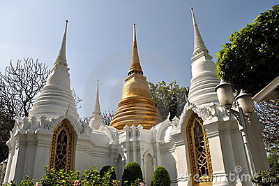 Bangkok,Thailand: Royal Tombs