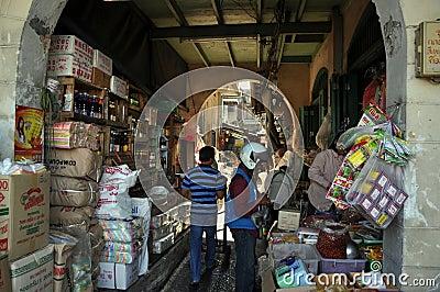 Bangkok, Thailand: Ta Tien Chinatown Market Editorial Image