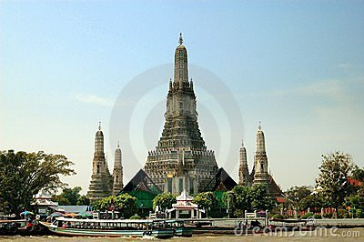 Bangkok, Thailand: Wat Arun Editorial Photo