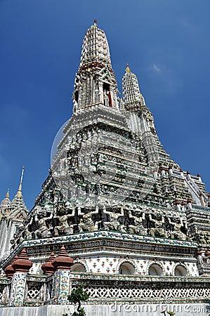 Bangkok, Thailand:  Wat Arun, Temple of Dawn