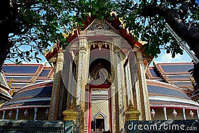 Bangkok, Thailand: Wat Ratchapophit Temple