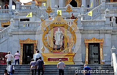 Bangkok, Thailand: Wat Tramit in Chinatown Editorial Stock Image