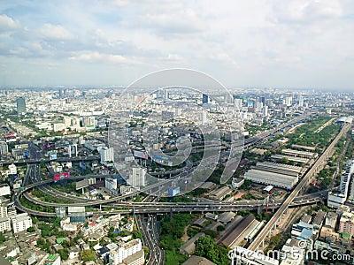 Bangkok from the top Editorial Image