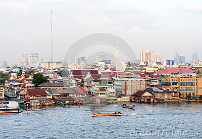 Bangkok town view