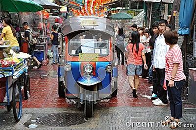 Bangkok Tuk-Tuk Taxi Editorial Image