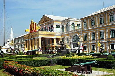 Bangokok, Thailand: Ministry of Defense Editorial Stock Image