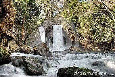 Banias waterfalls israel