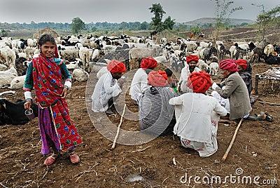 Banjara Tribes in India Editorial Photo