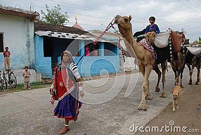 Banjara Women in India Editorial Stock Image