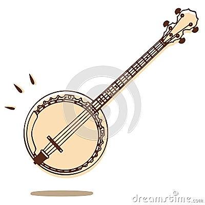 Banjo Vector Stock Photo Image 24487230