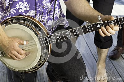 Banjo Playing