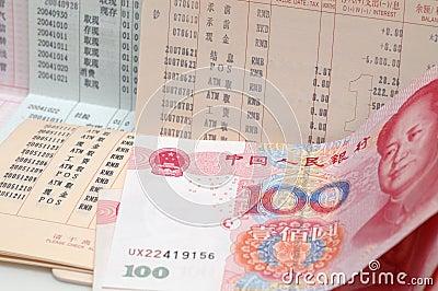 Bank account and RMB