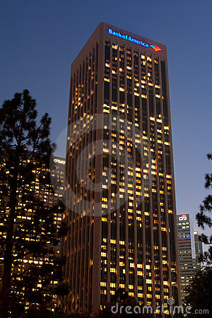 Bank of America, Citibank, and KPMG Buildings Editorial Photography