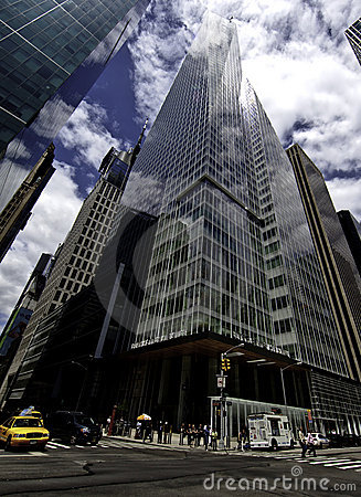 The Bank of America Tower at One Bryant Park Editorial Photography