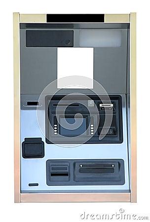 Bank ATM Cash Machine Kiosk