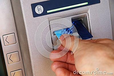 bank ATM machine