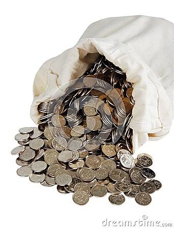 Free Bank Bag Royalty Free Stock Images - 6272419