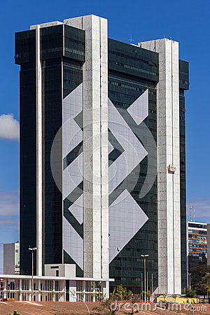 Bank of Brasil Headquarter Brasilia Editorial Stock Photo