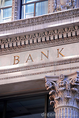 Free Bank Building Stock Photo - 1087260