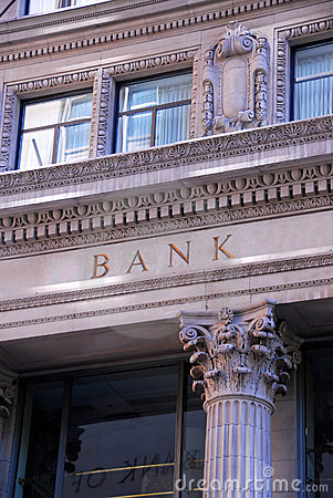 Free Bank Building Royalty Free Stock Photography - 1092967