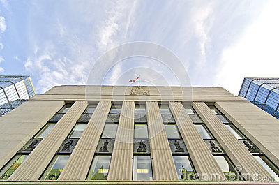 Bank of Canada, Ottawa, Canada Editorial Photo
