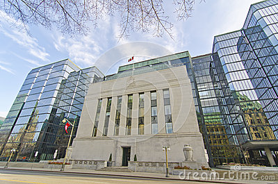 Bank of Canada, Ottawa, Canada Editorial Photography
