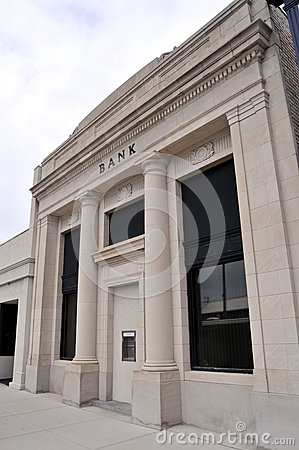 Bank entrance