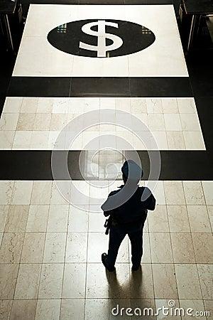 Bank guard 1