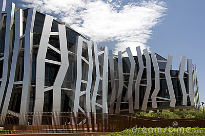 Bank headquarters, Basque Country, Spain Editorial Stock Image
