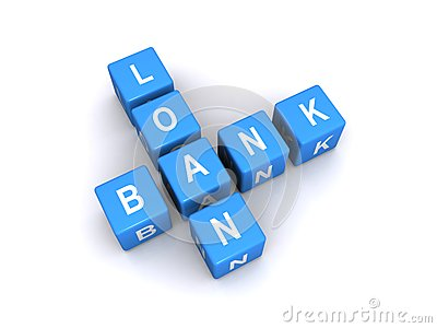 Bank loan sign
