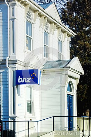 Free Bank Of New Zealand Building In Akaroa Stock Photography - 116134622