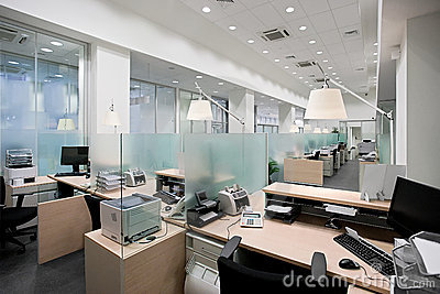 Bank office