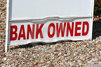 Bank Owned Property Sign