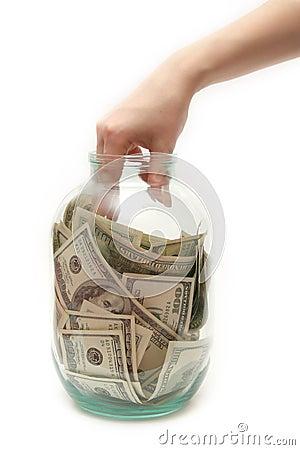 Bank pieniądze do sklepu